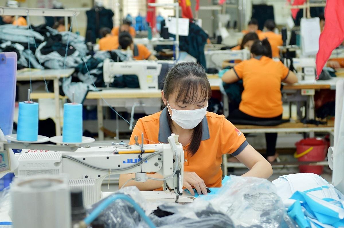 Xuất khẩu hàng dệt may sang Mỹ đang chiếm ưu thế