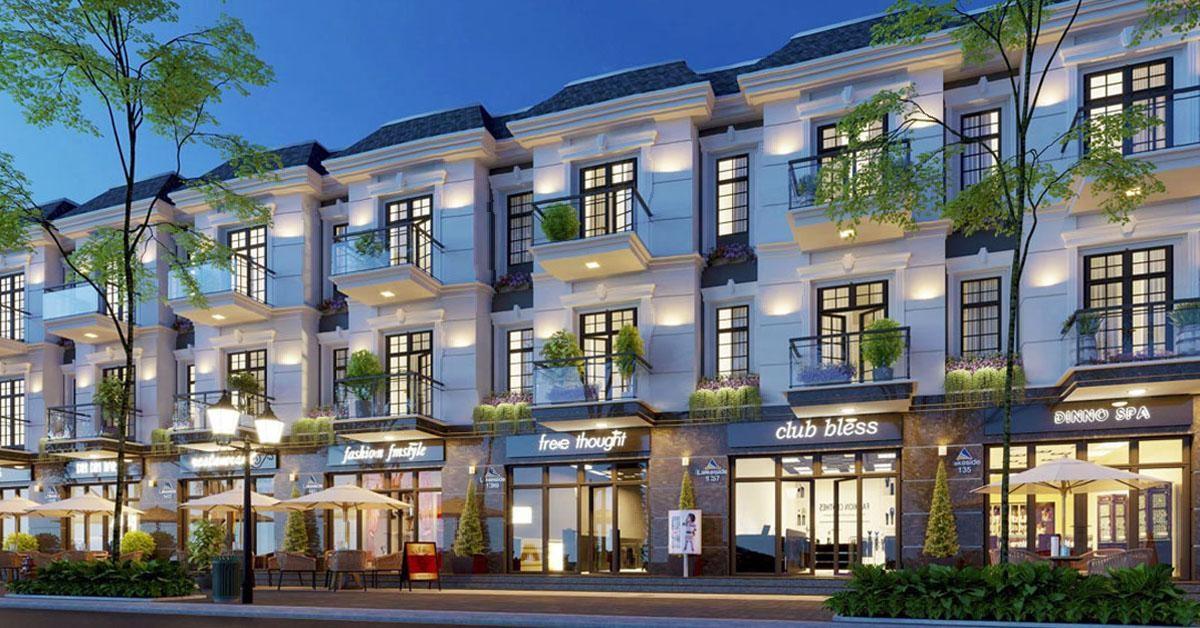 Vinh Heritage là dự án nổi trội trong phân khu Hoàng Yến