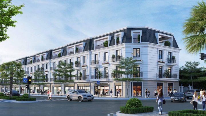 Thành phố Vinh: giới thiệu dự án nhà phố thương mại Vinh Heritage
