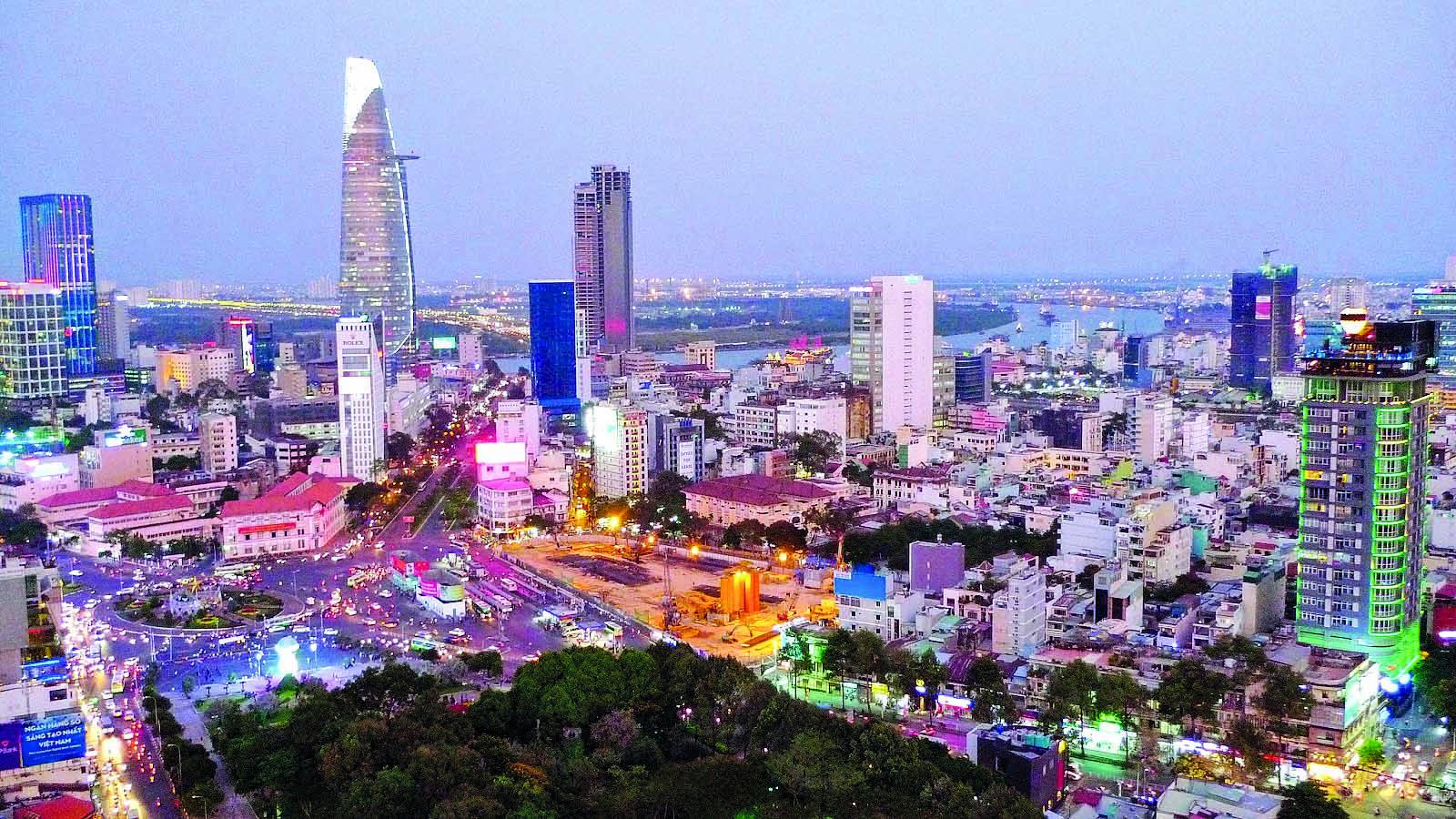 TP.HCM xác định mục tiêu phát triển trở thành một trung tâm kinh tế lớn